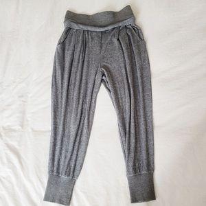 Trouve Harem Jogger Pants, XS, gray